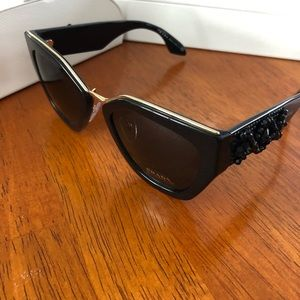 d17d13abb4 Prada Accessories - Prada 52mm Ornate Cat Eye Sunglasses PR 10TS